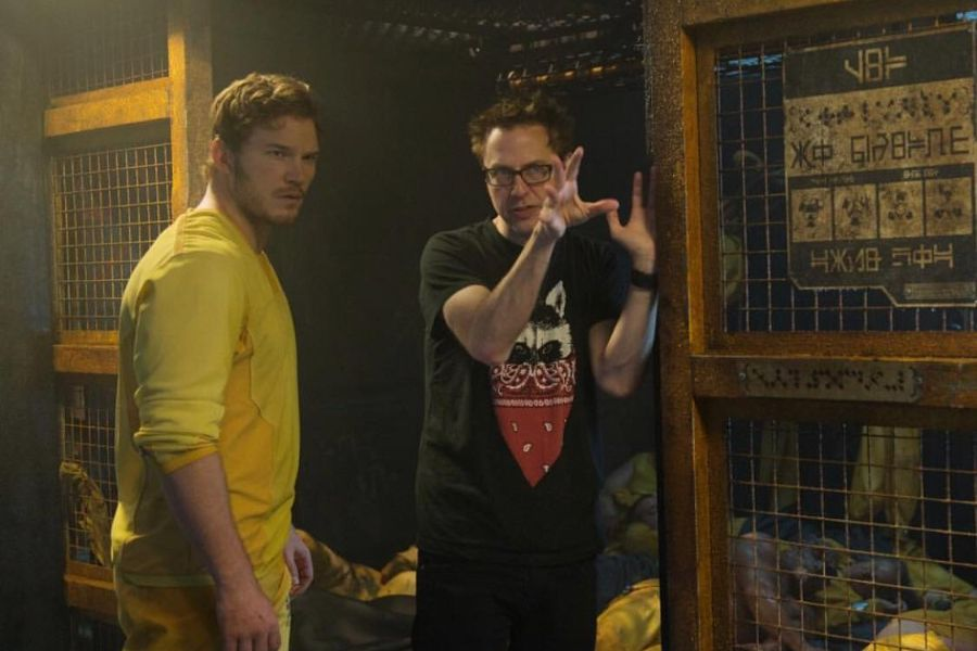 """James Gunn accused Martin Scorsese of criticizing Marvel tapes to """"get press for his movie"""" - La Tercera"""