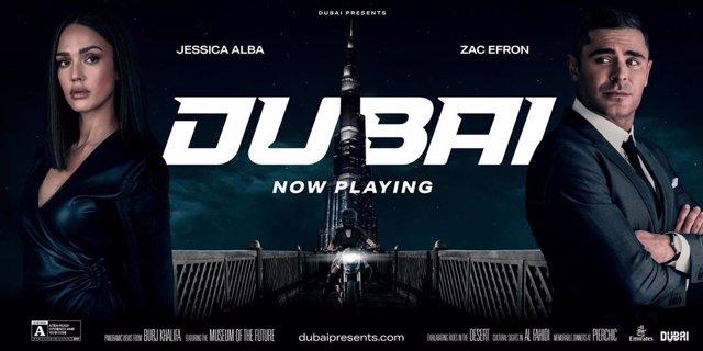 Jessica Alba and Zac Efron star in the new Dubai Tourism campaign