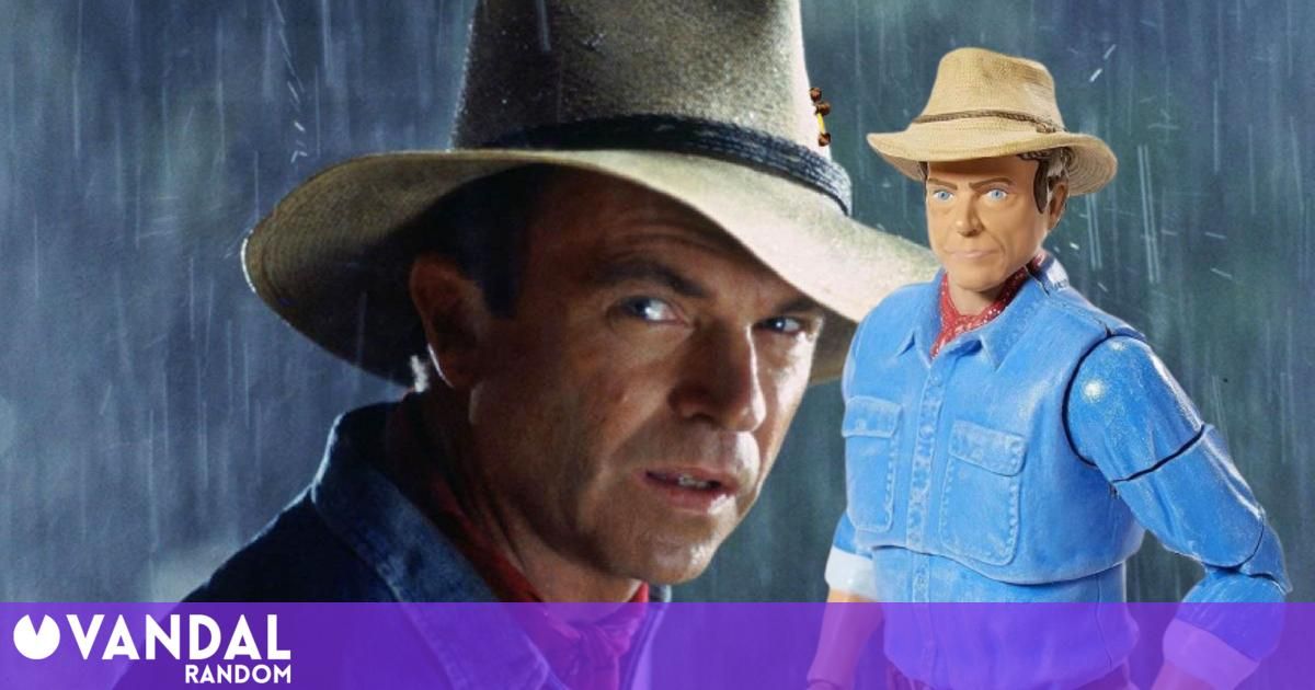 Jurassic Park: Sam Neill jokes about his new Alan Grant figure and asks for one for his kids