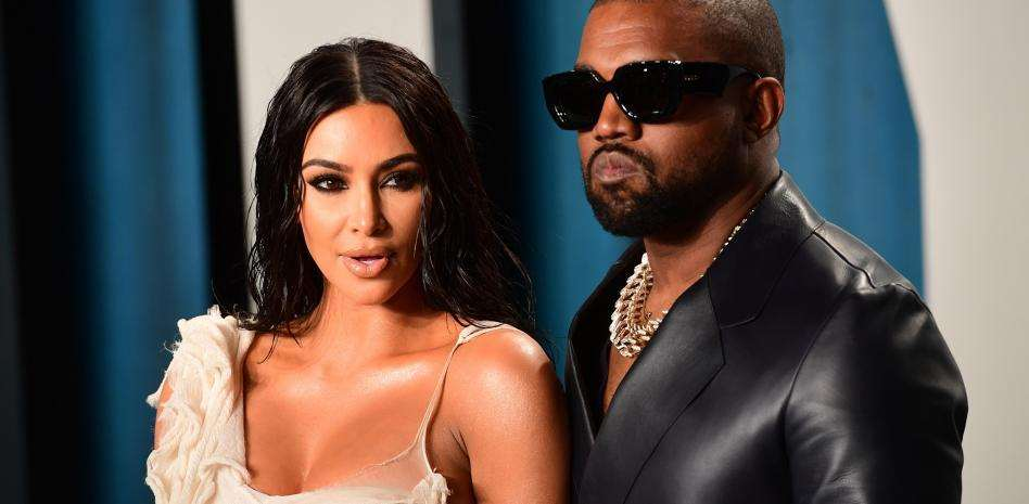 Kim Kardashian's impossible suit at the Kanye West concert | DUTY