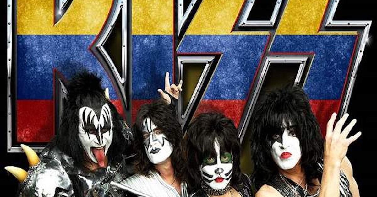 Kiss's last concert in Colombia already has a confirmed date