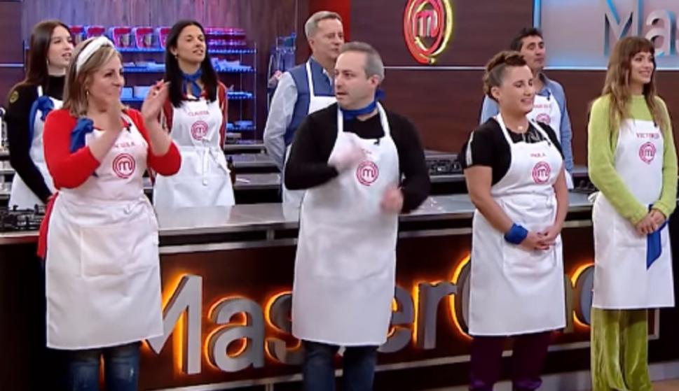 MasterChef Celebrity 2 the blue team debuted with bloopers creole