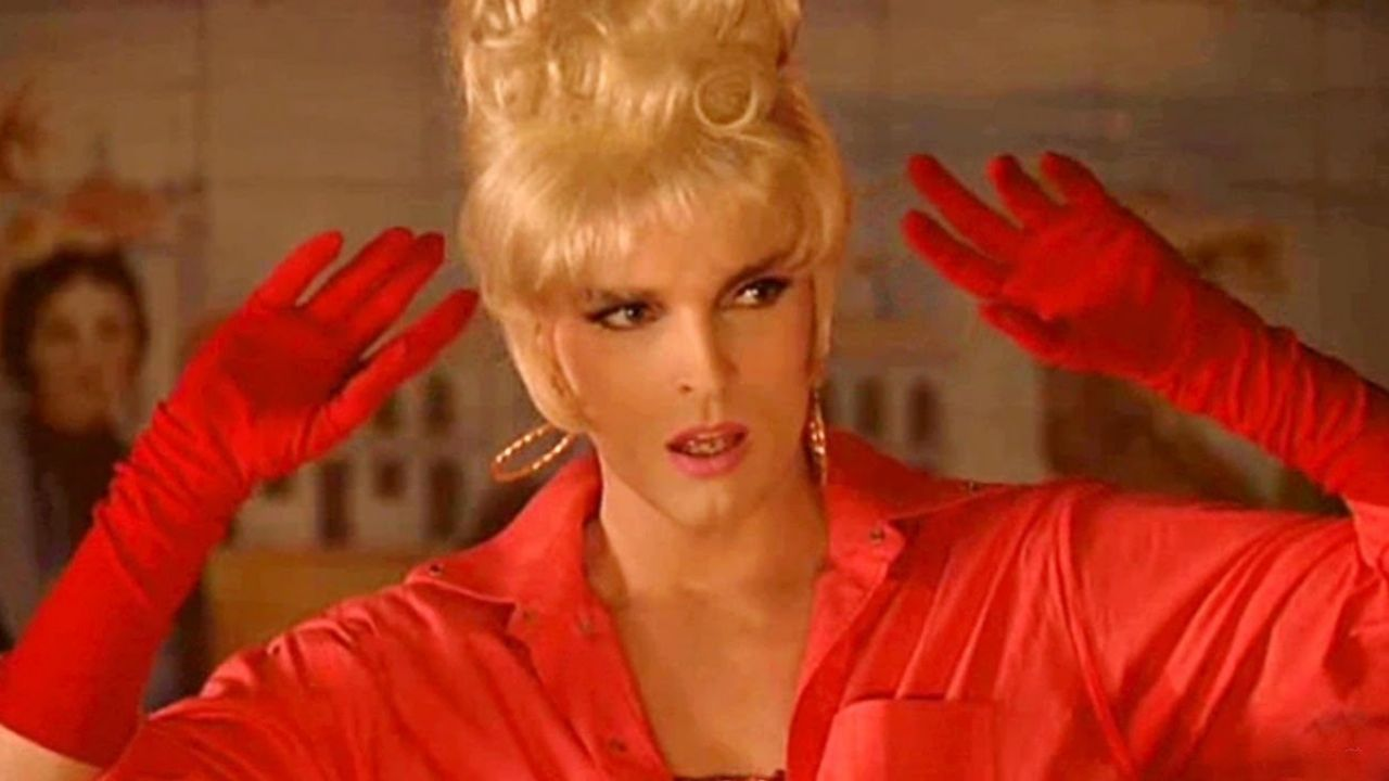 Miguel Bose disguised himself as a woman in this FILM