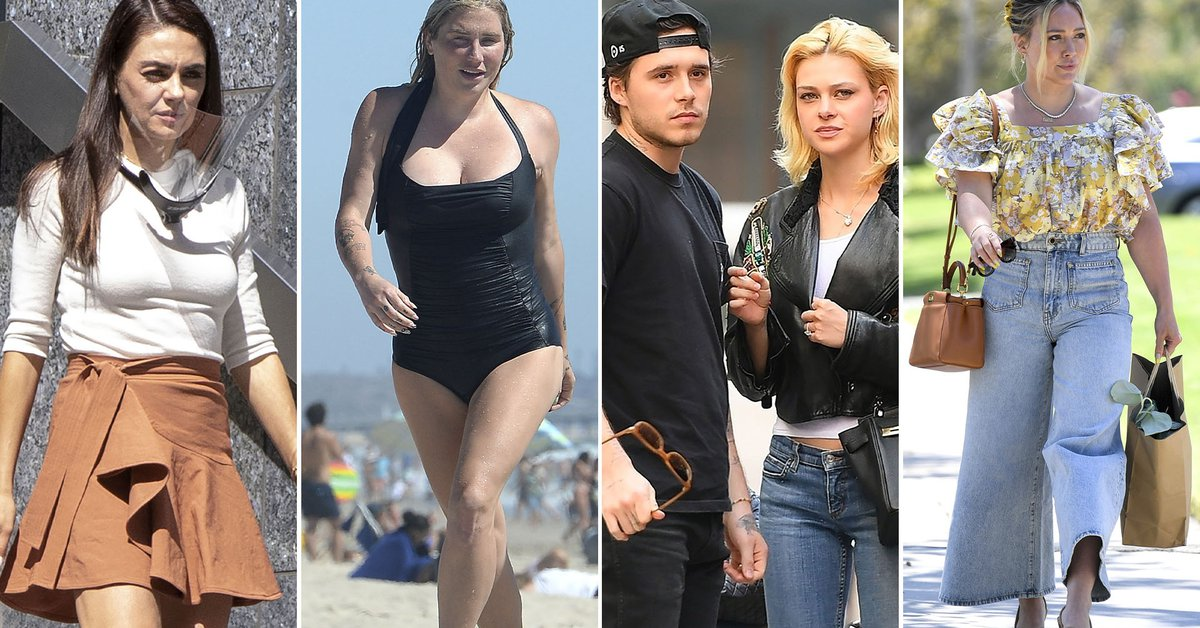 Mila Kunis films in Canada, Kesha enjoys the beaches of Los Angeles: celebrities in one click