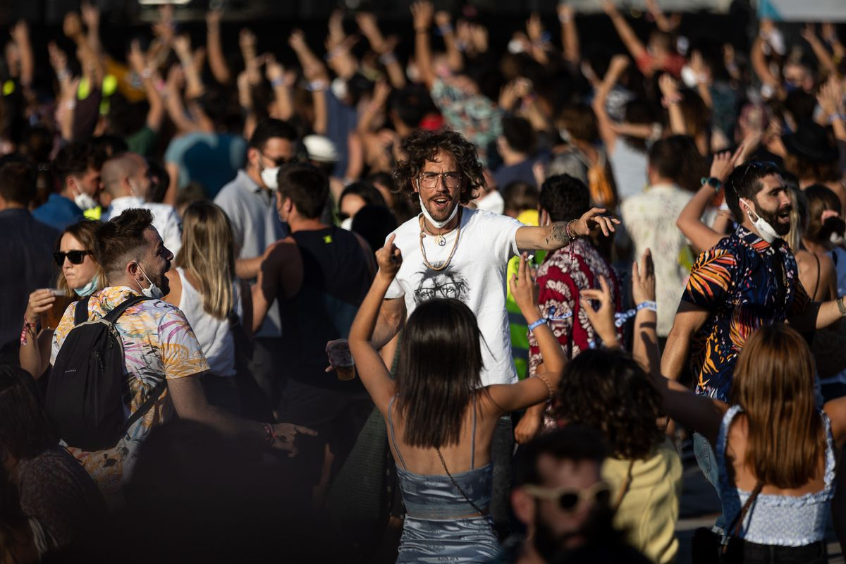 Music festivals in Catalonia increased the transmission of covid: more than 2,000 attendees were infected