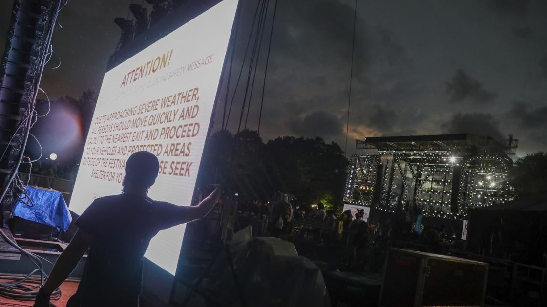 NYC Central Park concert canceled due to bad weather