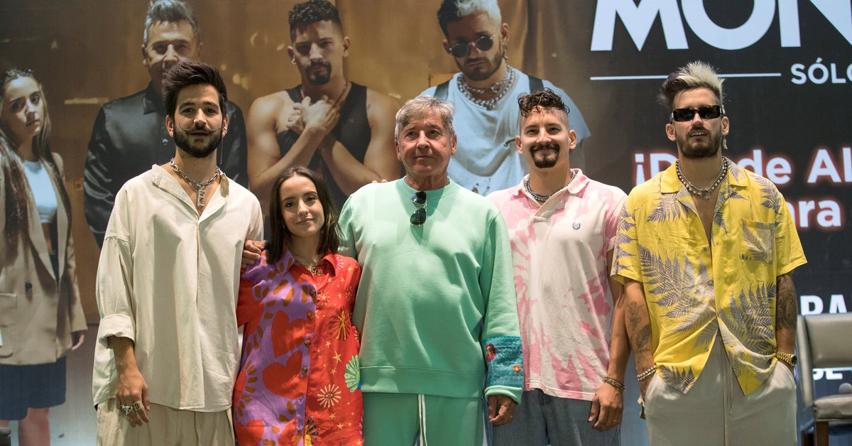 Not to believe: the millionaire figure that Camilo and the Montaner family won with a 'virtual concert'
