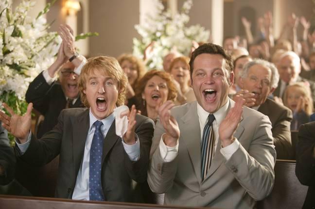 Owen Wilson is open to the idea of Wedding Crashers