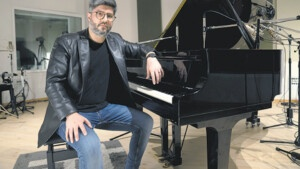 """Pablo Estigarribia and the transcription of a piano concert by Horacio Salgán 