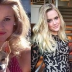 Reese Witherspoon dances in pajamas and looks identical to her daughter Ava Philippe