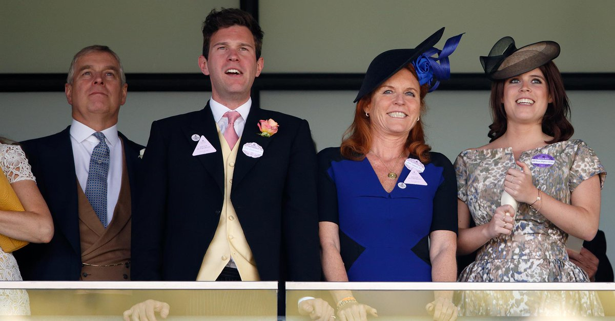 Sarah Ferguson's reaction after learning about the controversial photos of her daughter's husband with three women in Capri