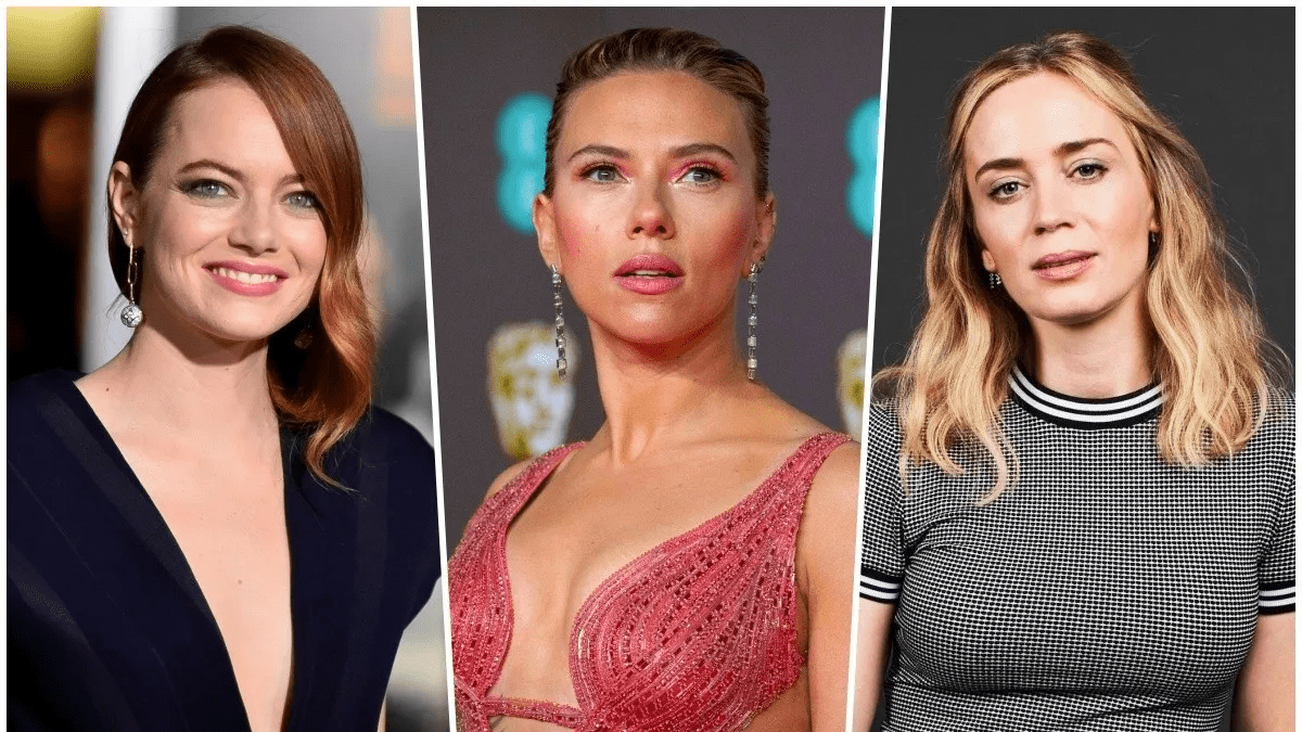 Scarlett Johansson effect Emma Stone and Emily Blunt would also