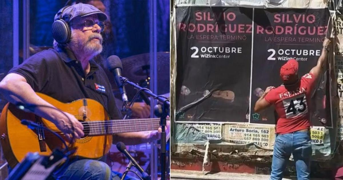 Silvio Rodriguezs concert in Madrid is maintained despite protests by