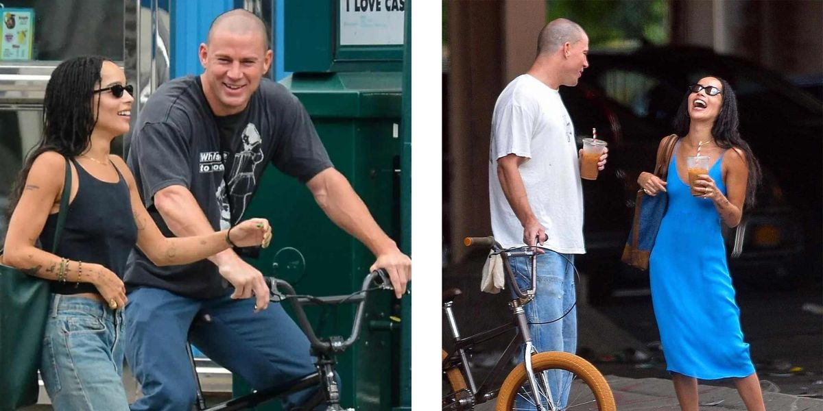 Since when is Channing Tatum a teenager on a BMX