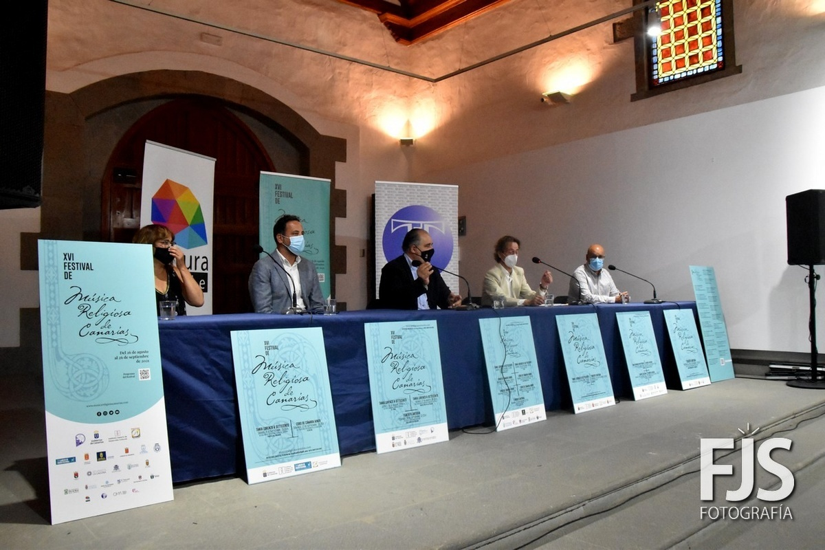 Telde venue for two concerts of the XVI Festival of