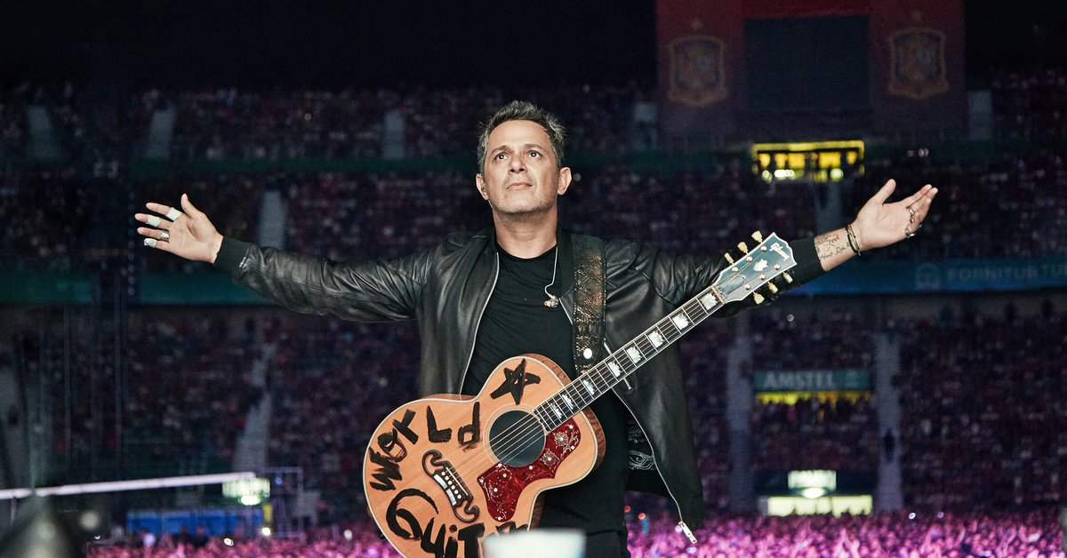 The 16 lapidary words of Alejandro Sanz to define the