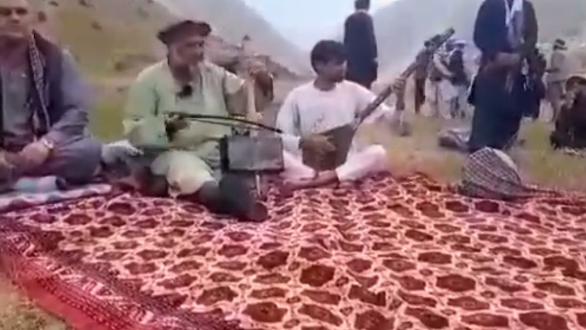 The Taliban murdered a singer after banning music for being