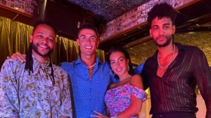 The concert with which Cristiano and Georgina closed their holidays