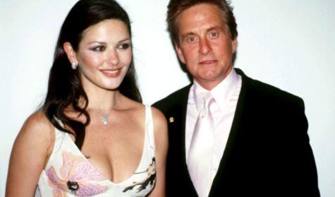 The day Catherine Zeta-Jones gave Michael Douglas pumpkins