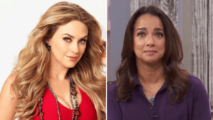 The day that Adamari López competed against Aracely Arámbula in a telenovela Who won?