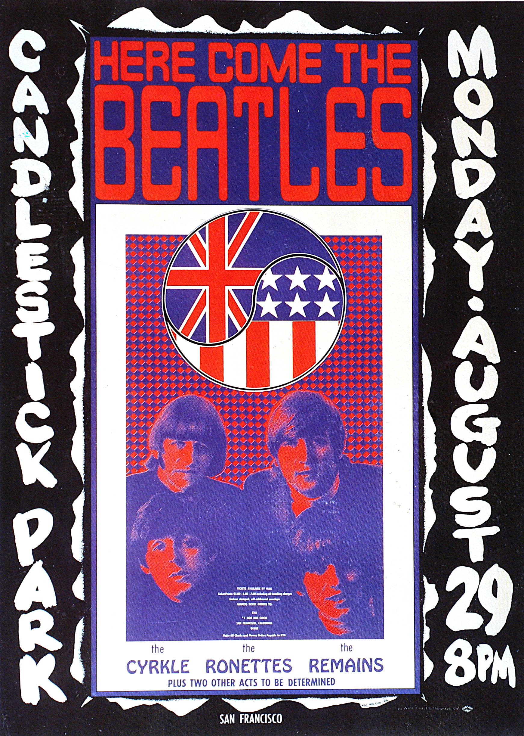 Photo Of Memorabilia BEATLES And CONCERT POSTERS And BEATLES