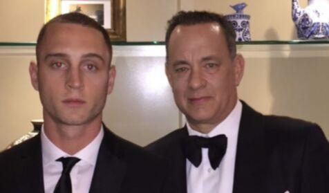 The drug addict son who is making Tom Hanks life bitter