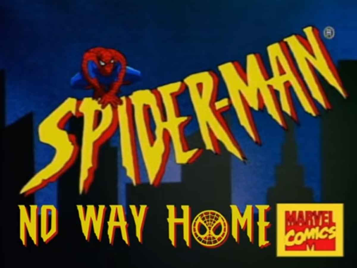 They recreate the trailer for Spider-Man: No way home with drawings from the 90s