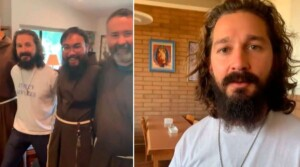 Transformers Actor Visits Capuchin Friars and Makes Important Announcement