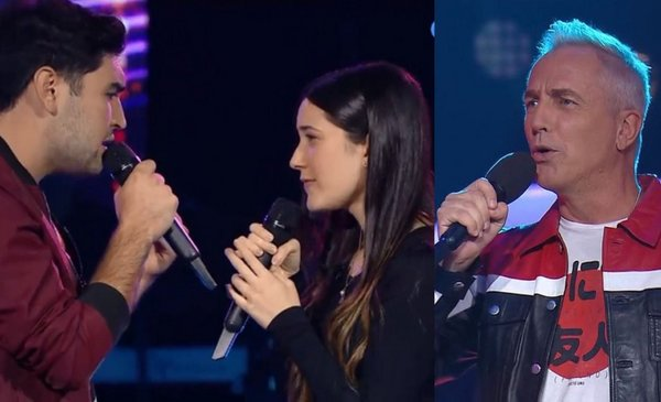 """Two participants from La Voz Argentina surprised Marley: """"A couple has formed!"""""""