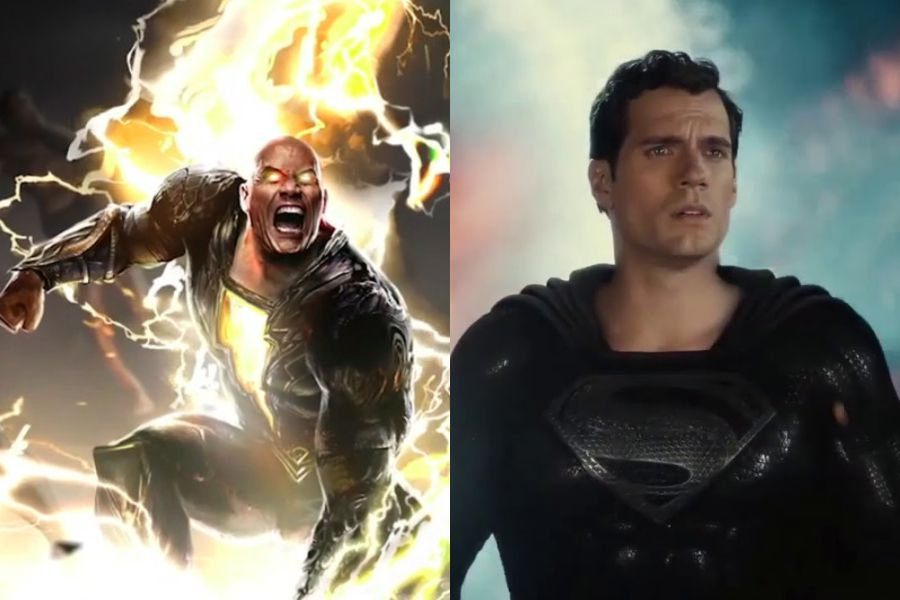 """""""We know the fans want it"""": Producer spoke about a possible battle between Black Adam Dwayne Johnson and Henry Cavill's Superman - La Tercera"""