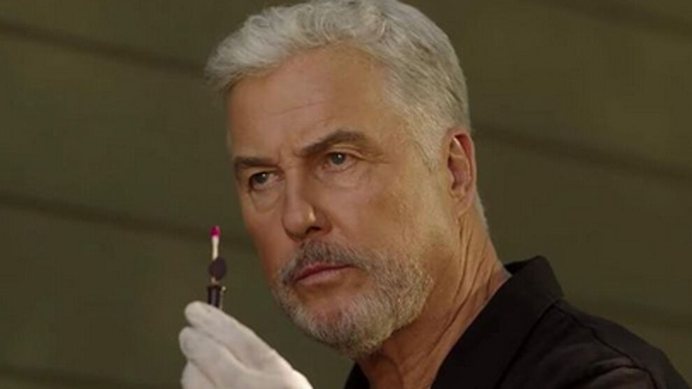 William Petersen Gil Grissom in the series CSI rushed to