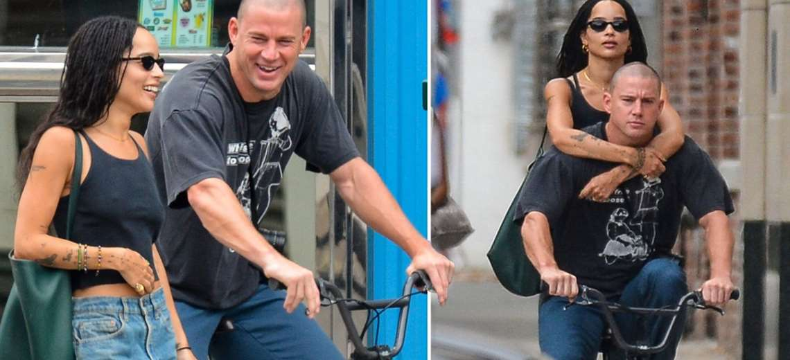 Zoe Kravitz and Channing Tatum are the couple of the