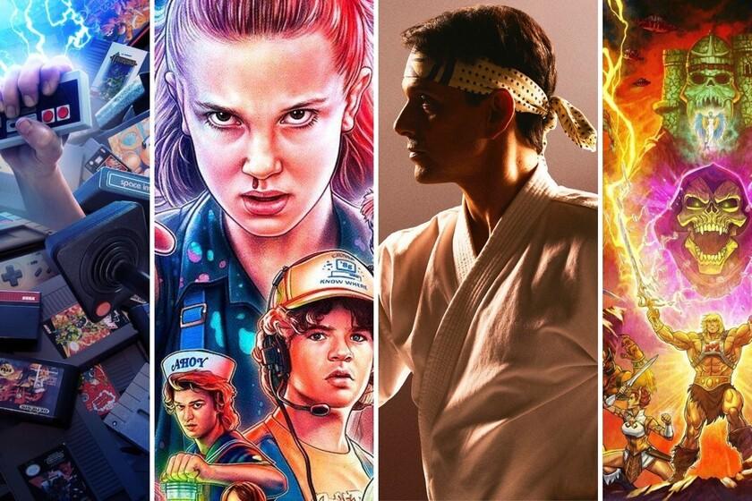 13 series and movies on Netflix to enjoy a nostalgic