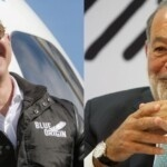 In which year did Jeff Bezos unseat Carlos Slim from the billionaires ranking?