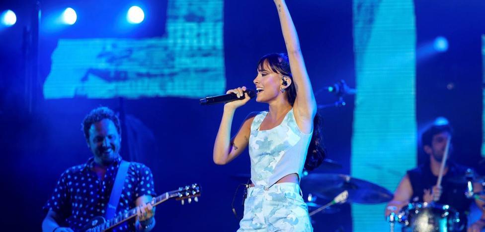 1630653645 Aitana postpones her concert in Logrono to October 30 due
