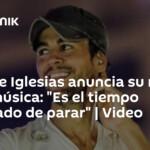 Enrique Iglesias announces his retirement from music: