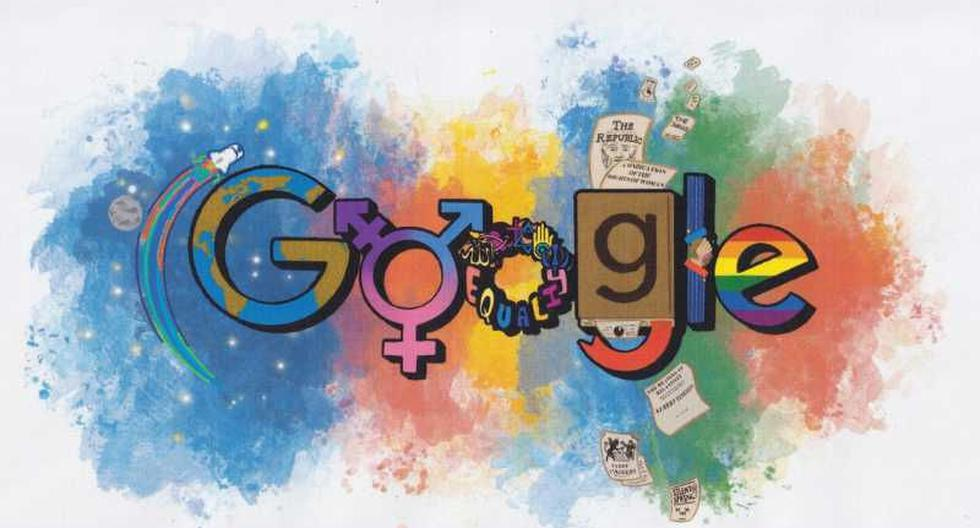 How was the first Google Doodle born?