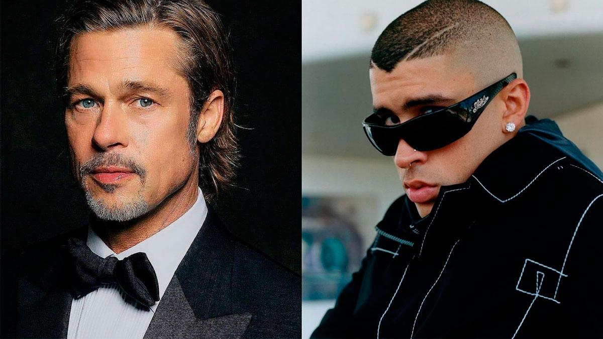 1630770852 Brad Pitt and Bad Bunny fight with a clean fist