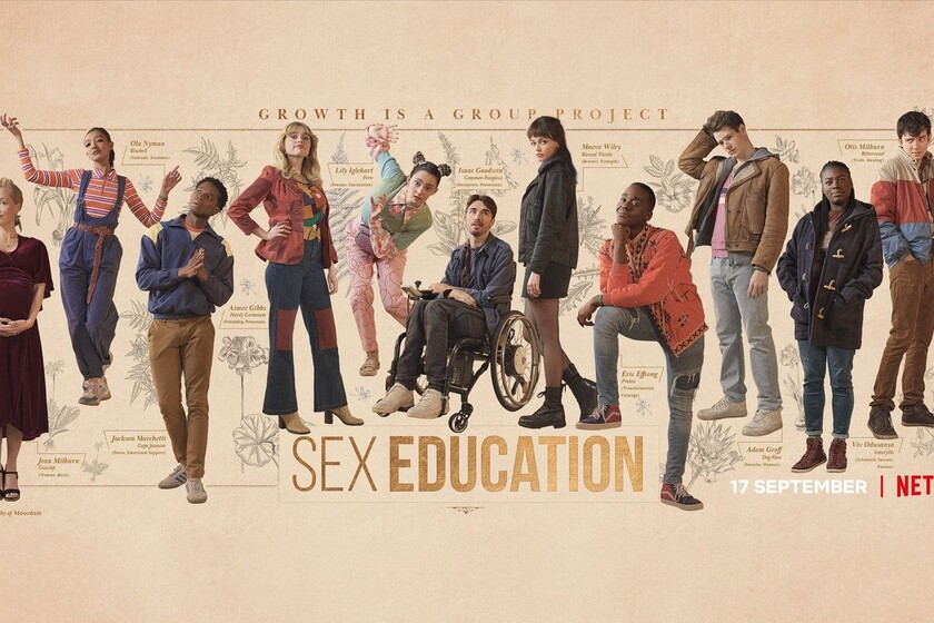 'Sex Education': the great season 3 of the Netflix series explores new dynamics without losing any of its charm