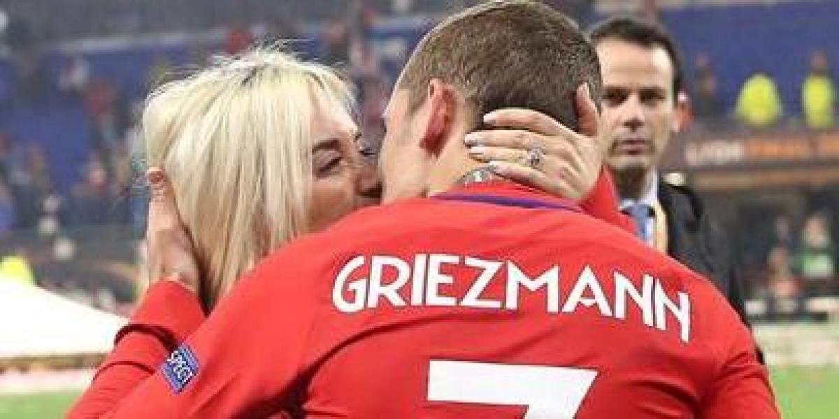 The message of Griezmann's wife, Erika Choperena, on her last day in Barcelona