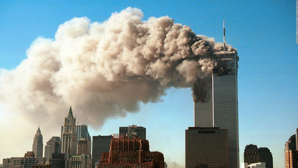 Images of the coverage of September 11, 2001