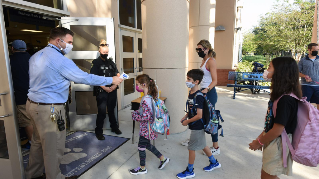 Florida schools may not require the use of masks