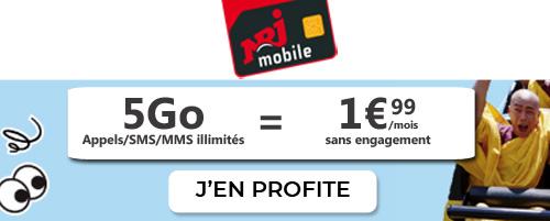 NRJ Mobile 5Go package