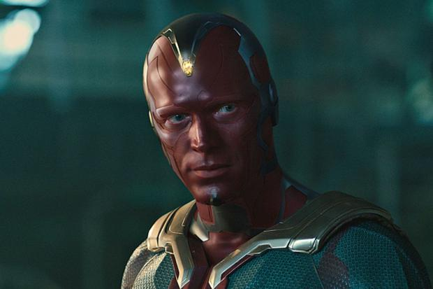 """Paul Bettany began playing the android Vision from """"Avengers: Age of Ultron"""". (Photo: Marvel Studios)"""