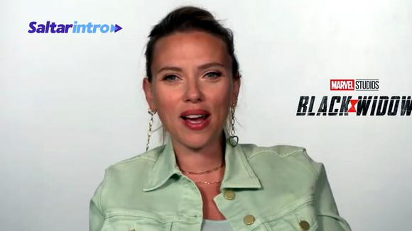 """Scarlett Johansson talks about the arrival of """"Black Widow"""" to theaters. (Source: Skip Intro)"""
