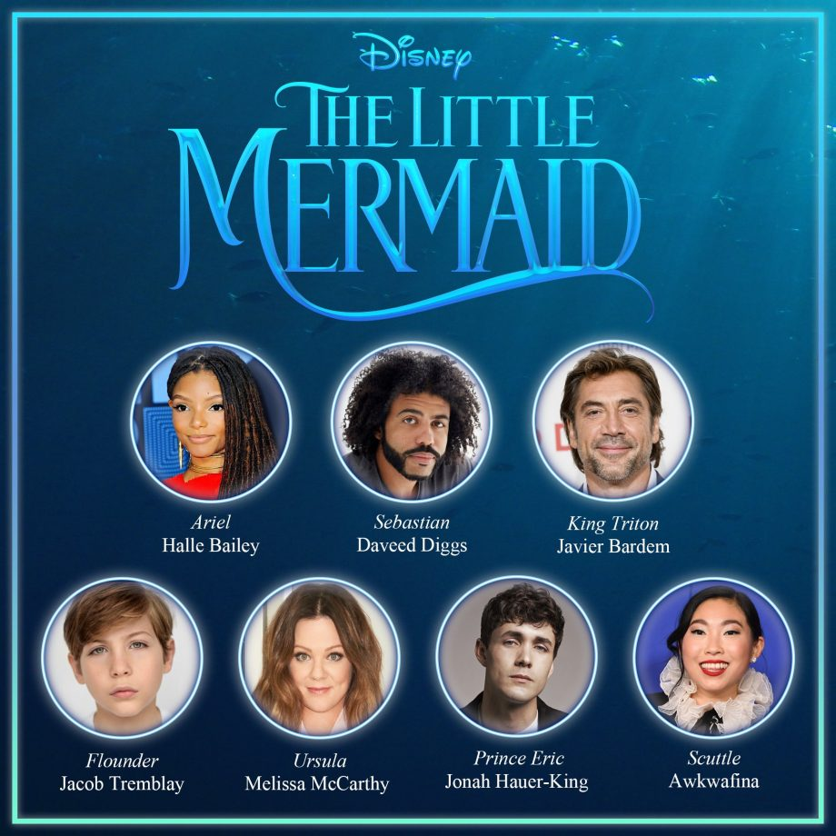 The live-action of 'The little mermaid' already has a release date; Disney reschedules other movies