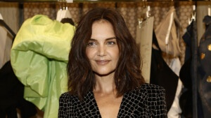 Katie Holmes ditches jeans to attend New York Fashion Week