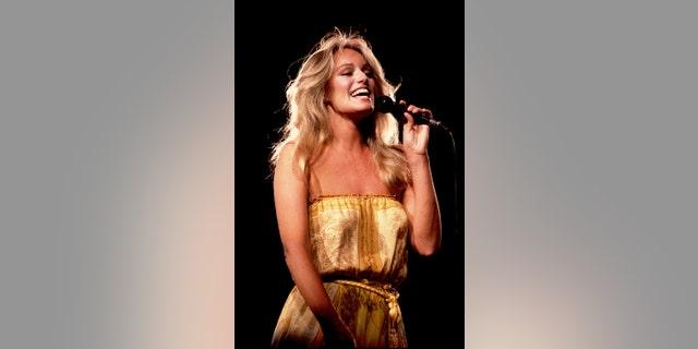 Susan Anton in concert, circa 1981.