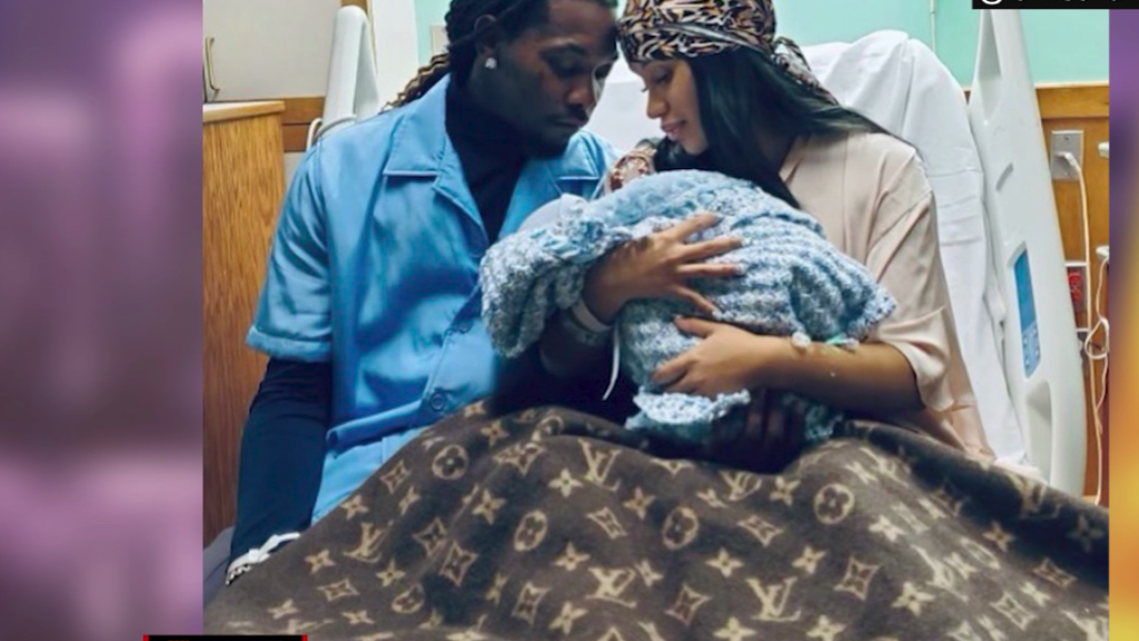 Cardi B introduces her second child on social media