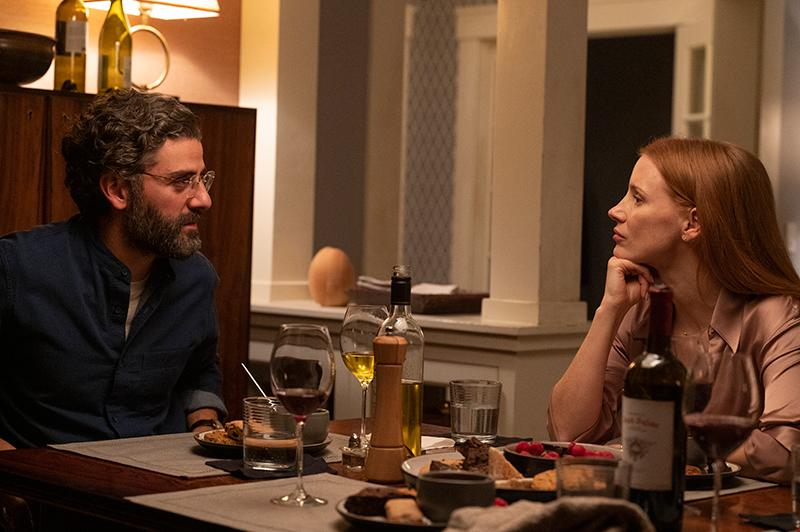 Oscar Isaac and Jessica Chastain in & # 39; Secrets of a marriage & # 39; (Jojo Whilden; cuts & # xed; a from HBO)